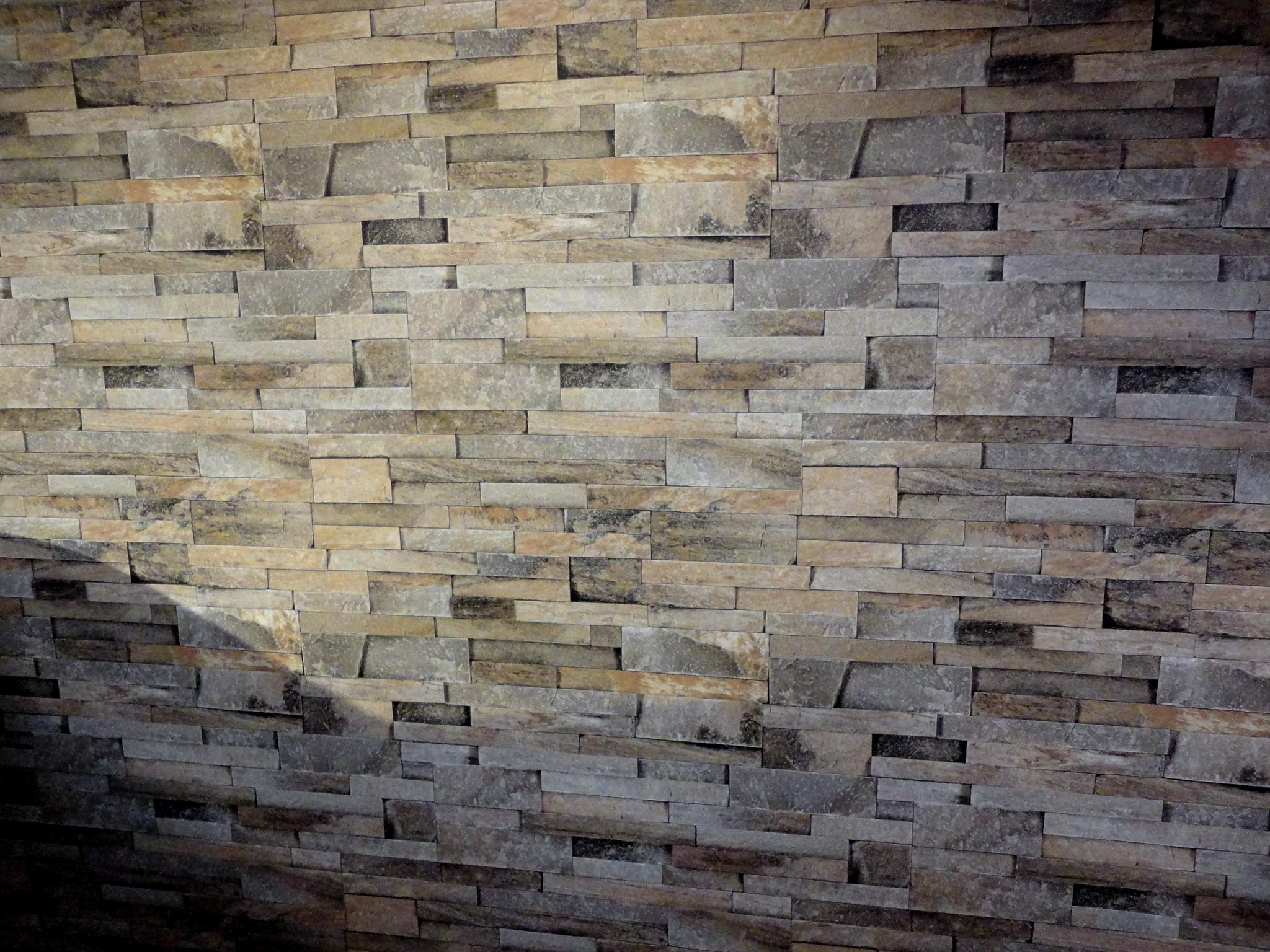 上品な石造り壁紙